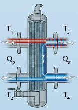 Строение гидрострелки в разрезе