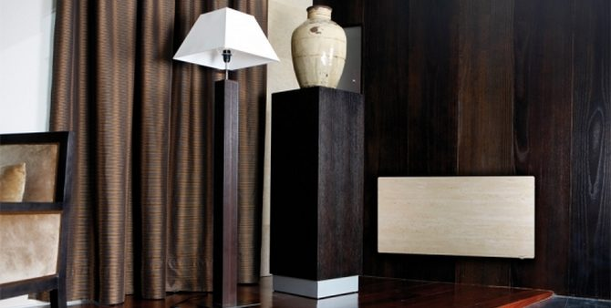 Дизайн-радиатор из камня Climastar