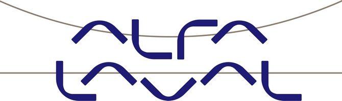 Логотип компании Альфа Лаваль