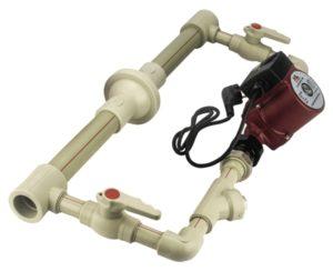 Байпас для насоса с полипропиленовых труб