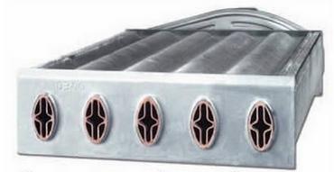 Совмещённый теплообменник газового котла