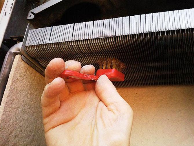 Очистка теплообменника своими руками