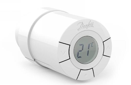 Терморегулятор Danfoss Living Connect для радиаторов