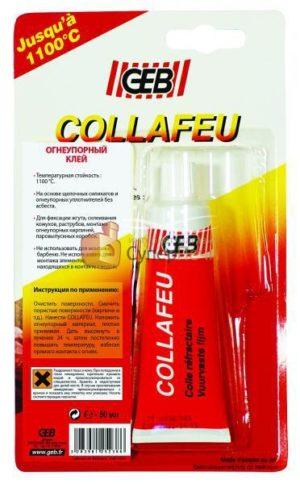 Профессиональный огнеупорный клей на неорганической основе Collafeu