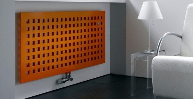Стальной панельный дизайнерский радиатор