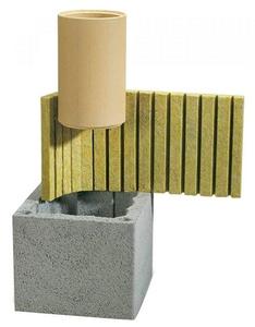Компоненты дымохода из керамики