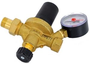 Подпиточный клапан НВ Emeti Alimatic с манометром диаметром 52 мм. 1/2