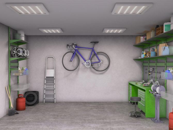 Котел для гаража
