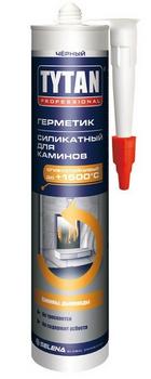 Силикатный термогерметик для каминов Tytan