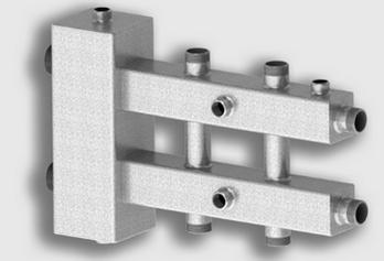Север-М3 (сталь 09Г2С) Гидравлический разделитель совмещенный с коллектором