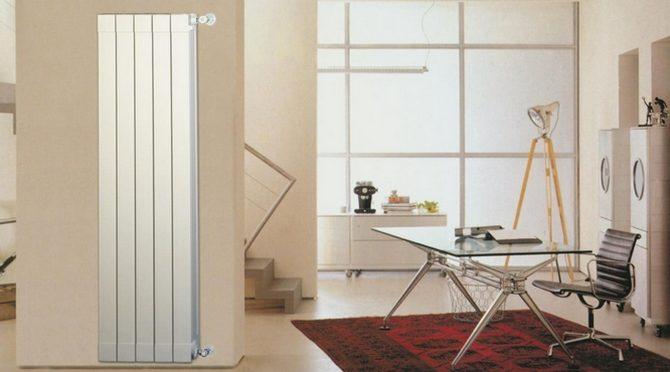 Вертикальный радиатор Global Oskar 1400