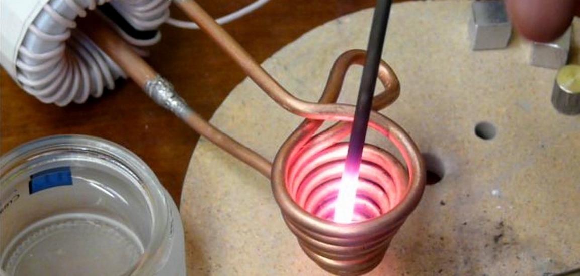 Проточный индукционный нагреватель своими руками