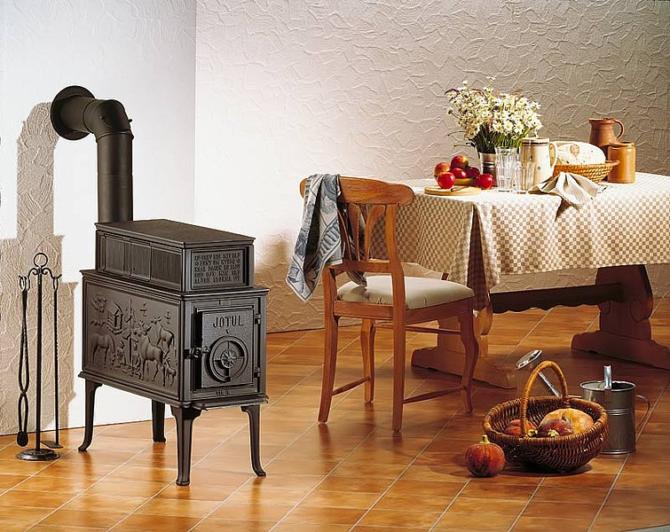 Винтажная печь Иотул