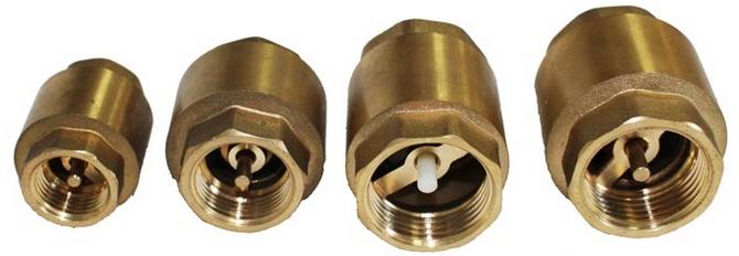 Обратные клапаны для отопления