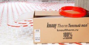 Knauf Therm Тёплый пол