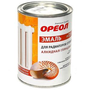Алкидная эмаль для радиаторов отопления