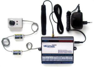 Сотовая система контроля системы отопления посредством СМС