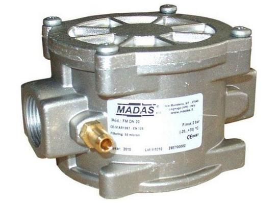 Газовый фильтр MADAS резьбовой