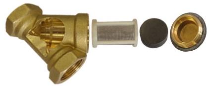 Фильтр сетчатый латунный для газа
