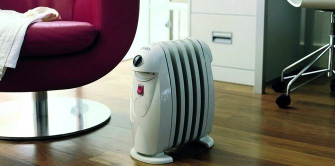 Масляный радиатор мини