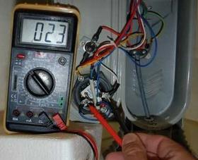 Проверка мультиметром масляного обогревателя