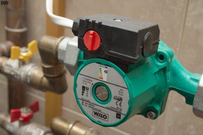 Как правильно установить циркуляционный насос в систему отопления