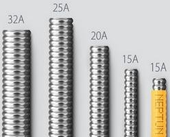 Гофрированные трубы Neptun IWS из высоколегированной стали