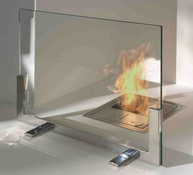 Огнеупорное стекло для печи и камина
