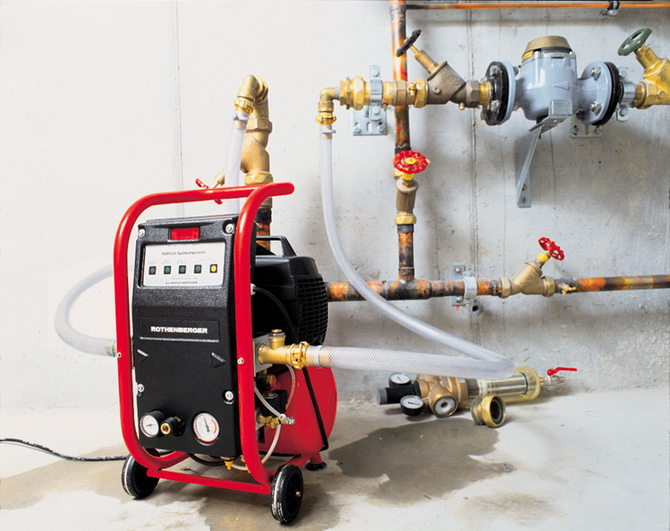 Опрессовка системы отопления дома
