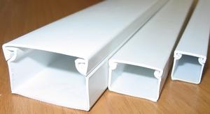 Пластиковые короба для труб отопления