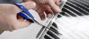 Линия разреза ИК плёнки