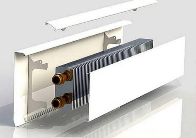 Система отопления тёплый плинтус