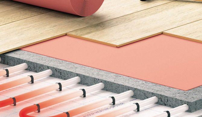 Подложка для теплого пола Expert Thermo Roll из экструзионного пенополистирола 2 мм