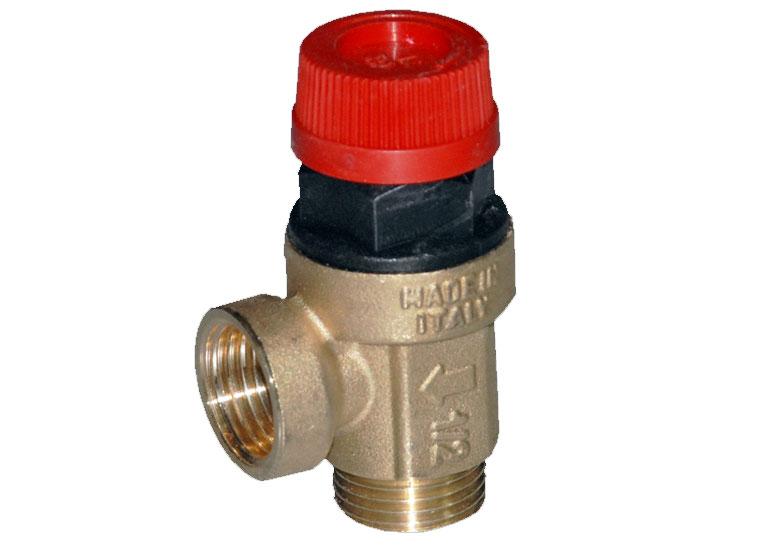 Предохранительный клапан в системе отопления виды назначение схемы монтаж
