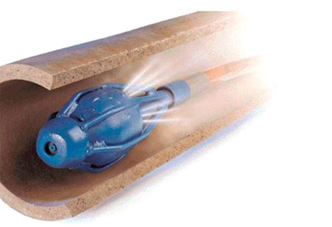 Очистка труб отопления гидродинамикой