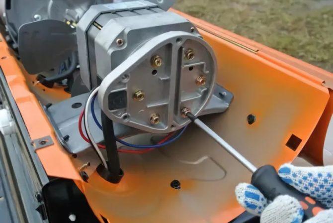 Как производить ремонт тепловой пушки