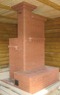 Печь шведка с лежанкой в деревянном доме