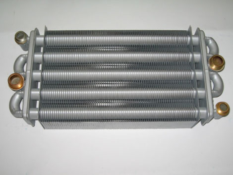 Роль теплообменника в котле Кожухотрубный конденсатор Alfa Laval CRF212-6-S 2P Пенза