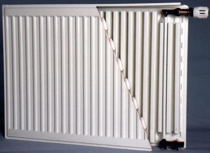 Стальной плоский радиатор