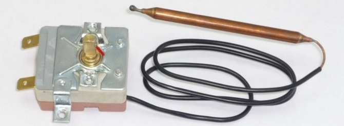 Капиллярный ТЭН для воды с терморегулятором
