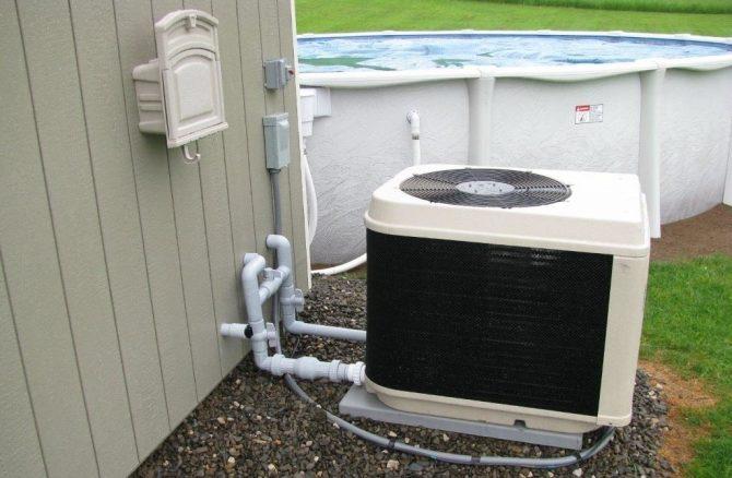 Тепловой насос для воды в бассейне