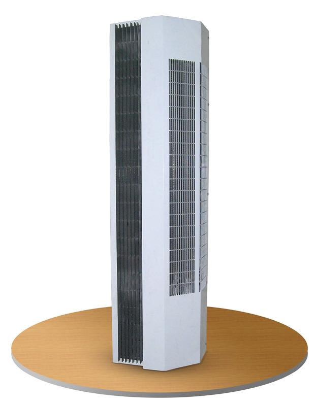 Вертикальная тепловая завеса
