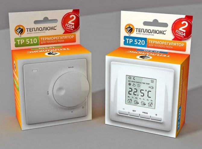 Терморегулятор теплого пола