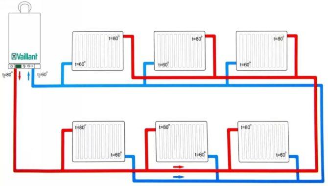 Схема системы Тихельмана