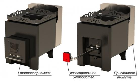 Печь для бани RST П-20ГТ/Т