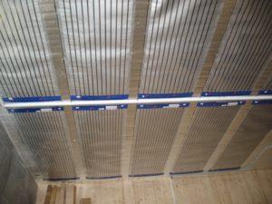 Установка ПЛЭН на потолок
