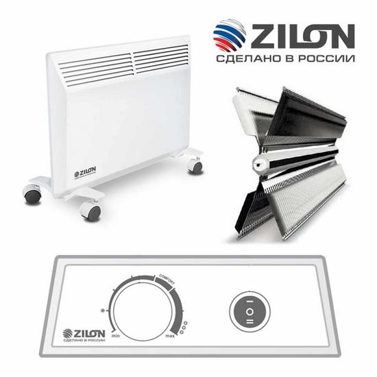 Электрические конвекторы Zilon из России